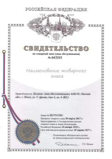 Регистрация Торговой марки, товарного знака в России